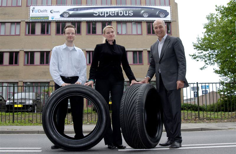 First set of Superbus tyres